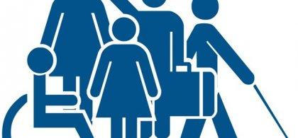 Ilustraciones sobre accesibilidad universal