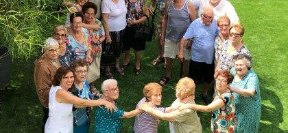 Imagen de personas con alzhéimer de la AFA ALGEMESÍ-FEVAFA