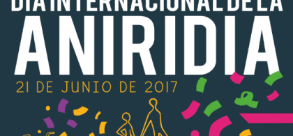 Cartel del Día Internacional de la Aniridia