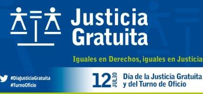 Cartel del Día de la Justicia Gratuita