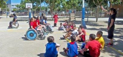 Fotos de alumnos con discapacidad