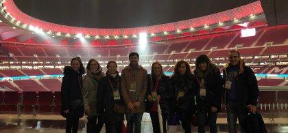 Foto de grupo en la que aparece Luisa Teresa Milano