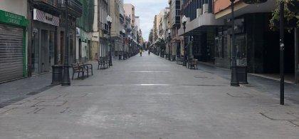 Imagen de una calle vacía