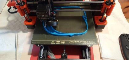 Imagen de una impresora 3D