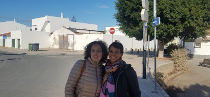 Lourdes y Natalí