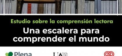Imagen de la portada del estudio donde se ven estanterías llenas de libros