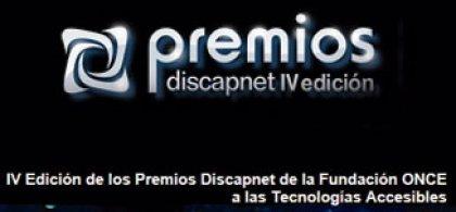 Cartel de los premios Discapnet