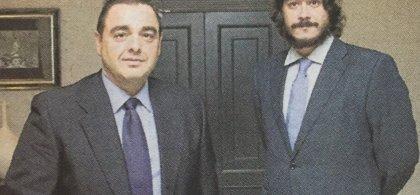 Raúl Pellicer y Francisco Santaolalla, cofundadores de Sky Trade Pharma