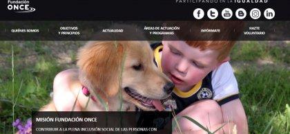 Imagen de un niño abrazando a un perro